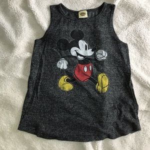 DISNEY Mickey Mouse Tank Top in heathered grey